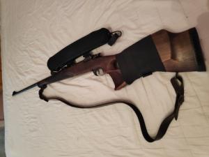Baikal IZS 308 szerelékkel, Zastava Arms 3006 thumbhole agyazás
