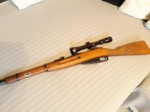 Mosin-Nagant  Vadász Golyós Fegyver 7.62X54R