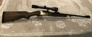 gavallér puska,billenő csövű, egylövetű