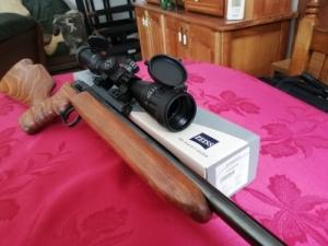 Bartal-féle távcsöves lőfegyver tölténnyel és patronnal