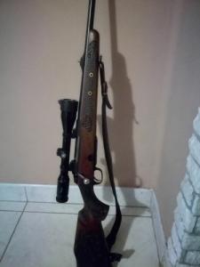 Finn tikka M695 golyós fegyver