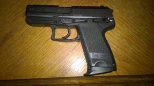 HK USP Comp. .40S&W -ről - 9mm P.A.K. -ra gázosítva / Steiner /