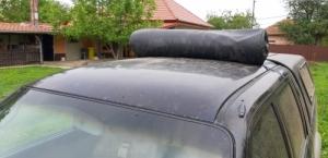 lő zsák pick-up tetőre