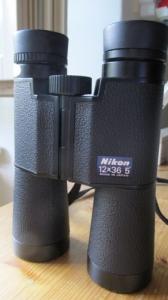 Nikon 12x36 japán kereső távcső