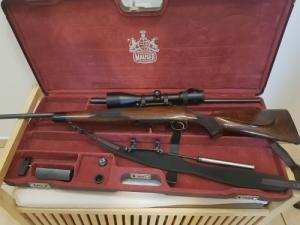 Ár alatt!! Mauser M03 270wsm+ 338Win.Mag.Váltócső + Szerelék