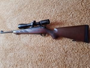 Tikka T3 Hunter. 2, 5x10x50hd Optikával