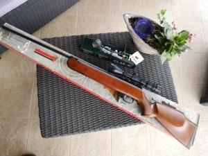 Újszerű Weihrauch HW90 5,5-es theoben gázrugós légpuska