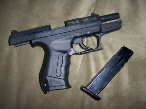 Walther P99 gáz - riasztó pisztoly
