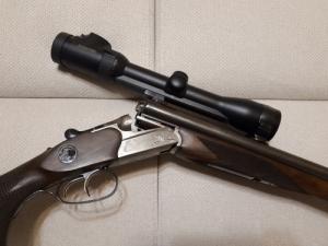 Merkel Driling duplacsövű puska