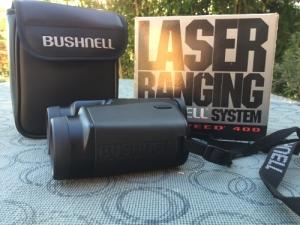 Bushnell lézeres távolságmérő