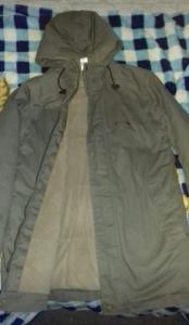 Téli vadász kabát
