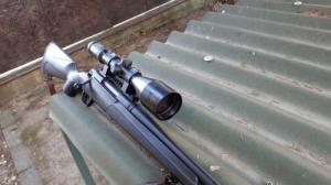 Olcsó Zeiss céltávcső+270win fegyver