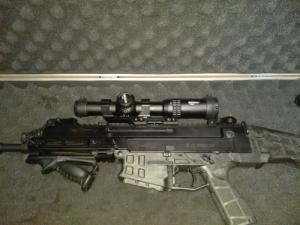 Vortex Strike Eagle 1-6x24 AR-BDC+ Vortex CM-202