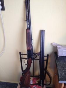 Fég vegyescsövű vadászfegyver, 12/70 kaliberű váltócsővel