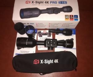 ATN x-sight 4K pro 3-14x éjjellátó céltávcső