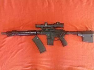 Troy M4 karabély C kategória