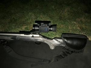 !PARD NV008 LRF AKCIÓ! éjjellátó céltávcső távolságmérővel!