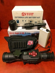 ATN x-sight 2 HD 3-14x éjjellátó céltávcső