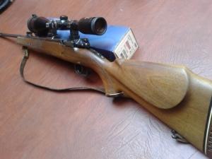 Voere Kufstein Austria 7x64 golyós puska megkímélt