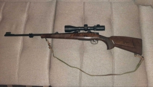 CZ 550 lux golyós puska