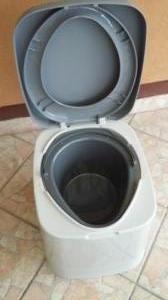 Új Mobil hordozható kemping vödrös beltéri WC