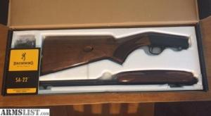 Browning SA 22 fegyvert vennék
