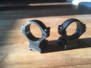 Tikka T3 hunter fix acél gyűrűpár 30mm