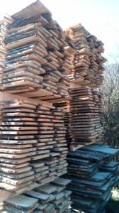 Tölgyfa szélezetlen deszka