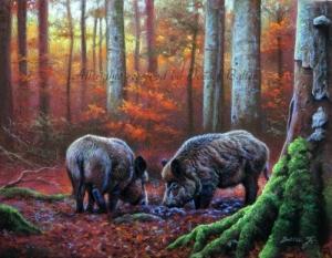Balter József vadászképek
