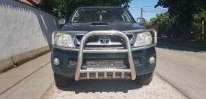 Toyota Hilux gallyvédő,gallyrács krómozott szép állapotban eladó