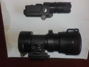 Cot nm-80 ( Ps 22 ), Pulsar hd 38, aimpoint h34s