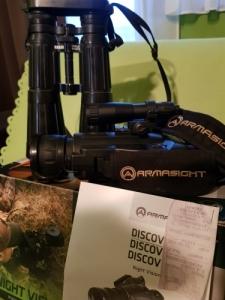 Kereső távcső DIALYT 8x56B, és A Discoveri 3 Night Vision Bi- Oculars