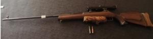 Fég GV 7,62x54R Golyós puska + távcső + lőszerek eladó