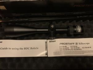 Nikon Prostaff 5  3.5-14x50 SF Matte IL BDC