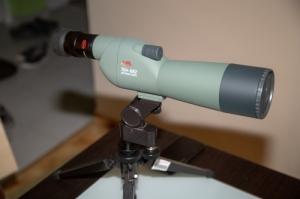 KOWA TSN-602 egyenes betekintésű spektív és KOWA TSE-Z9B 20-60x zoom okular