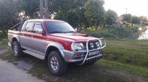 Mitsubishi l200  Rozsdamentes