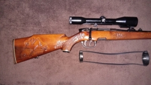 Steyr SL 5,6x50 Magnum + 100 db. lőszer + Zeiss 6x42
