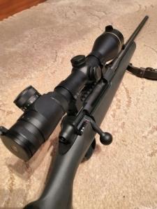 Mauser M18 golyós vadászlőfegyver Leupold VX-3 3,5-10x50mm céltávcső