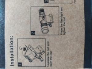 Mágneses lámpatartó szerelék .