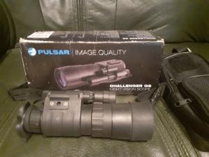 Pulsar 3.5x50 éjjellátó