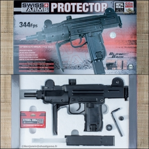 Swiss Arms Protector 4.5mm co2 mini uzi