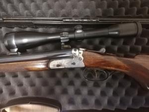 Egyedi vegyescsövű puska