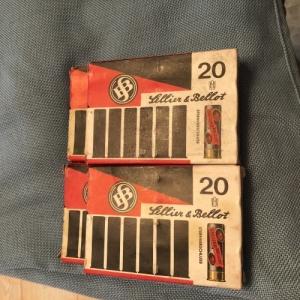 Lellier & Bellot sörétes lőszer 20cal